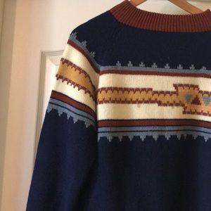 Pendelton-esque Vintage Sweater